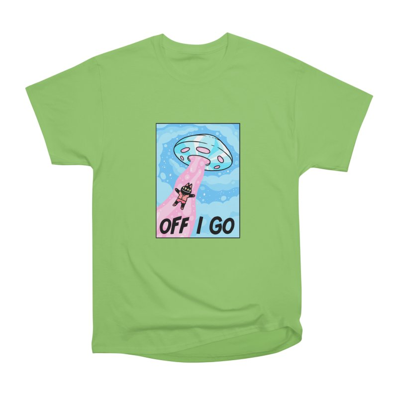 OFF I GO Men's Heavyweight T-Shirt by GOOD AND NICE SHIRTS