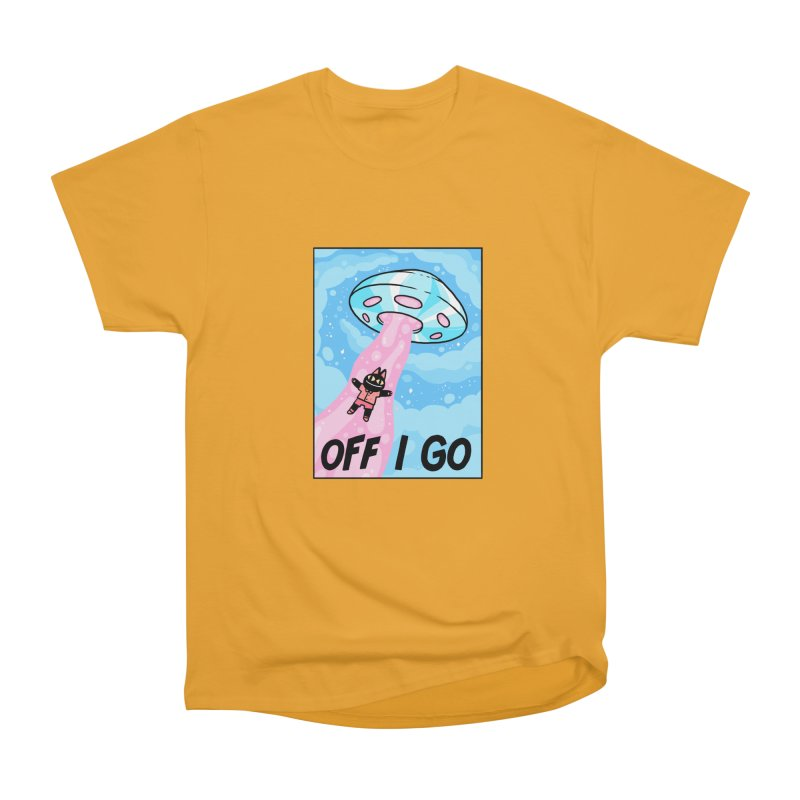 OFF I GO Women's Heavyweight Unisex T-Shirt by GOOD AND NICE SHIRTS