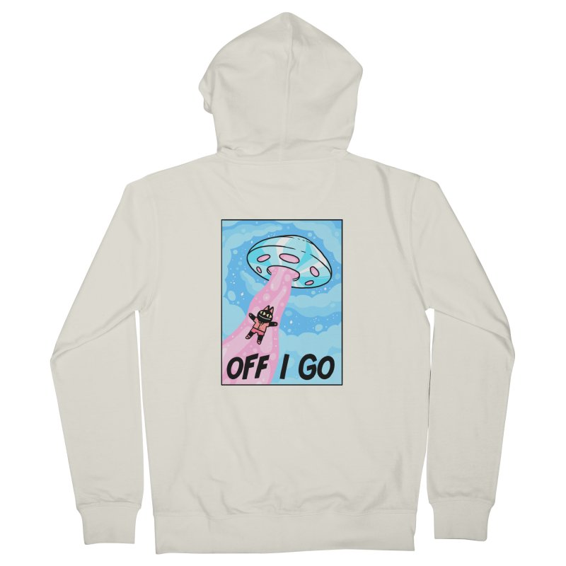 OFF I GO Men's Zip-Up Hoody by GOOD AND NICE SHIRTS