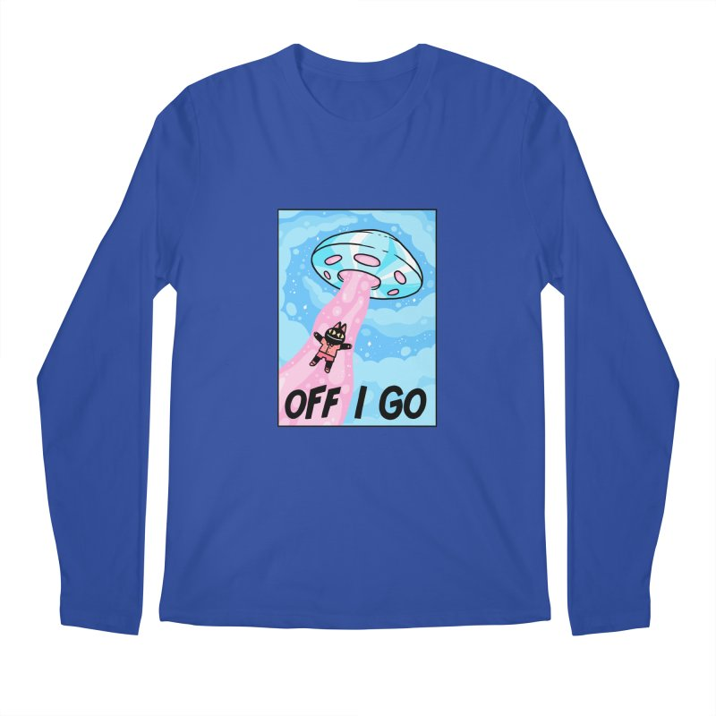 OFF I GO Men's Regular Longsleeve T-Shirt by GOOD AND NICE SHIRTS