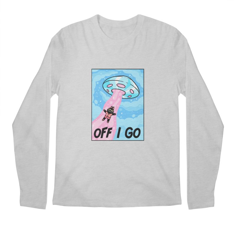 OFF I GO Men's Regular Longsleeve T-Shirt by GOOD AND NICE SHIRTS