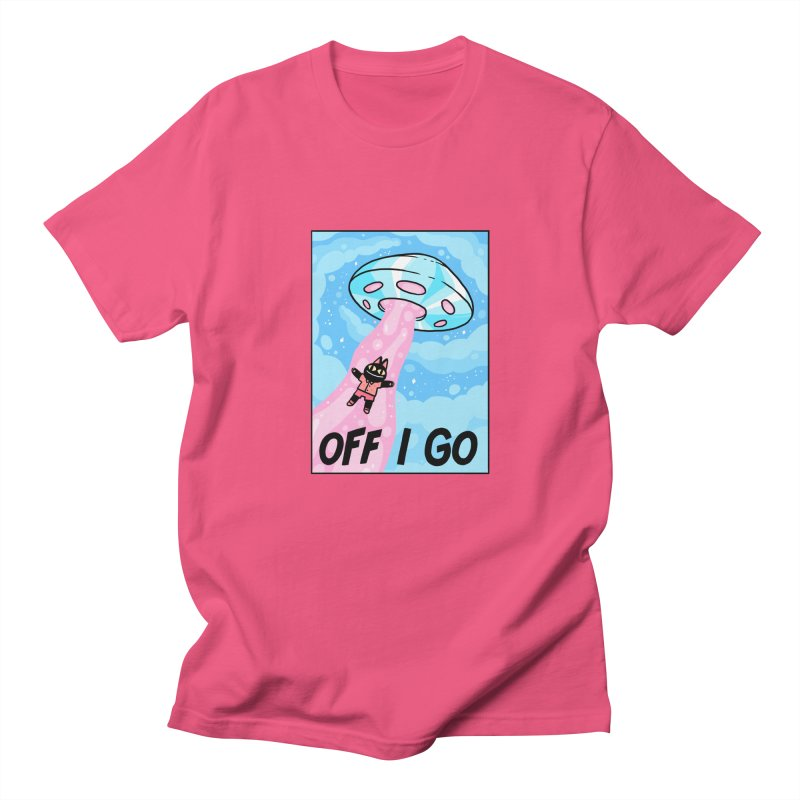 OFF I GO Men's Regular T-Shirt by GOOD AND NICE SHIRTS