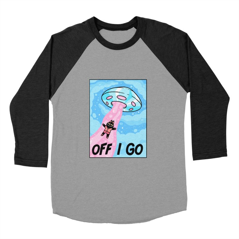 OFF I GO Women's Baseball Triblend Longsleeve T-Shirt by GOOD AND NICE SHIRTS