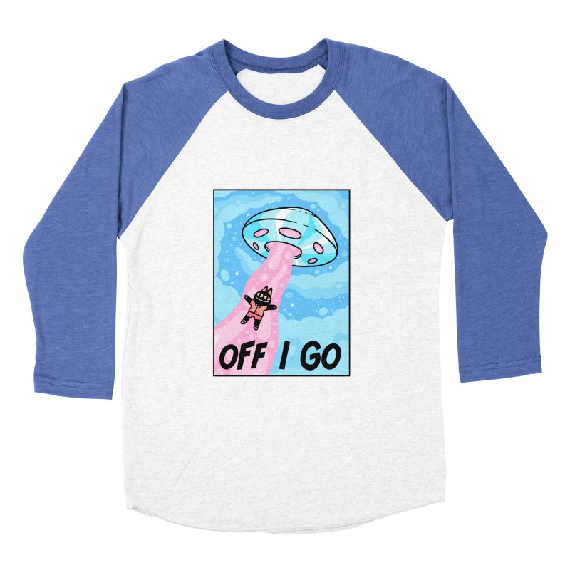 OFF I GO Men's Baseball Triblend T-Shirt by GOOD AND NICE SHIRTS
