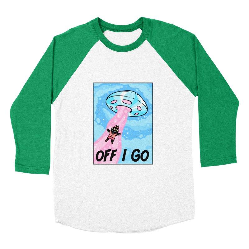 OFF I GO Men's Baseball Triblend Longsleeve T-Shirt by GOOD AND NICE SHIRTS