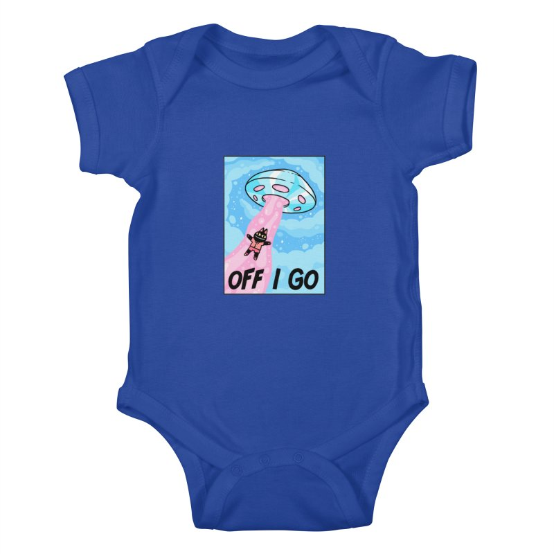 OFF I GO Kids Baby Bodysuit by GOOD AND NICE SHIRTS