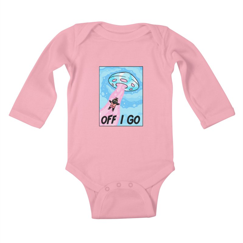 OFF I GO Kids Baby Longsleeve Bodysuit by GOOD AND NICE SHIRTS