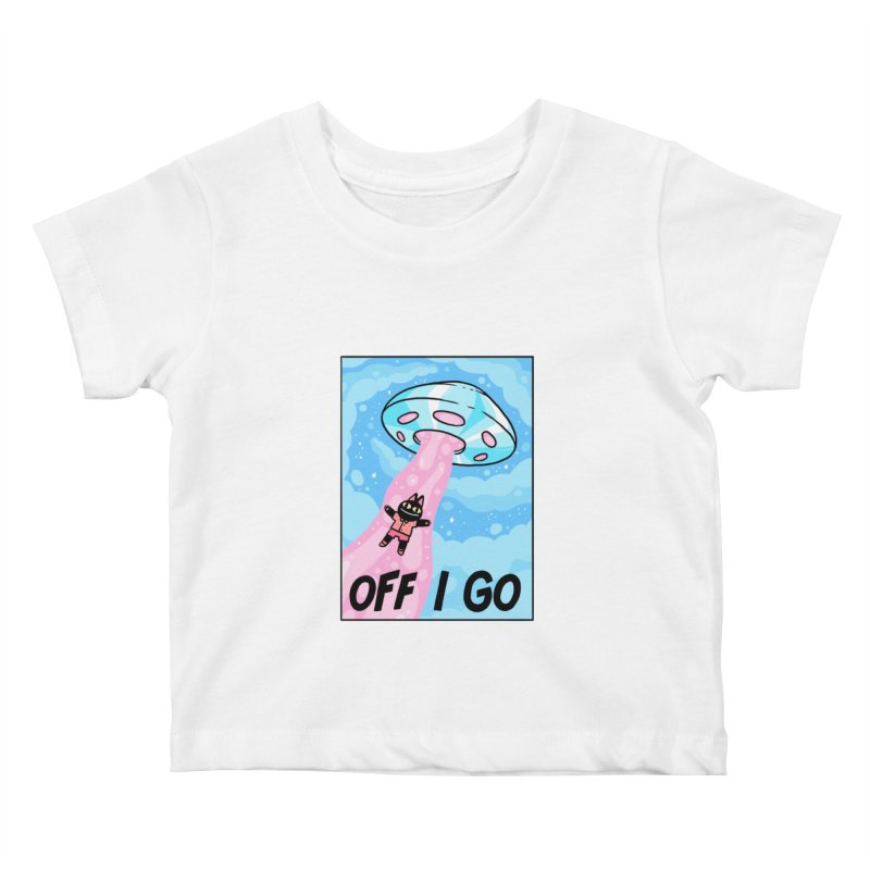 OFF I GO Kids Baby T-Shirt by GOOD AND NICE SHIRTS