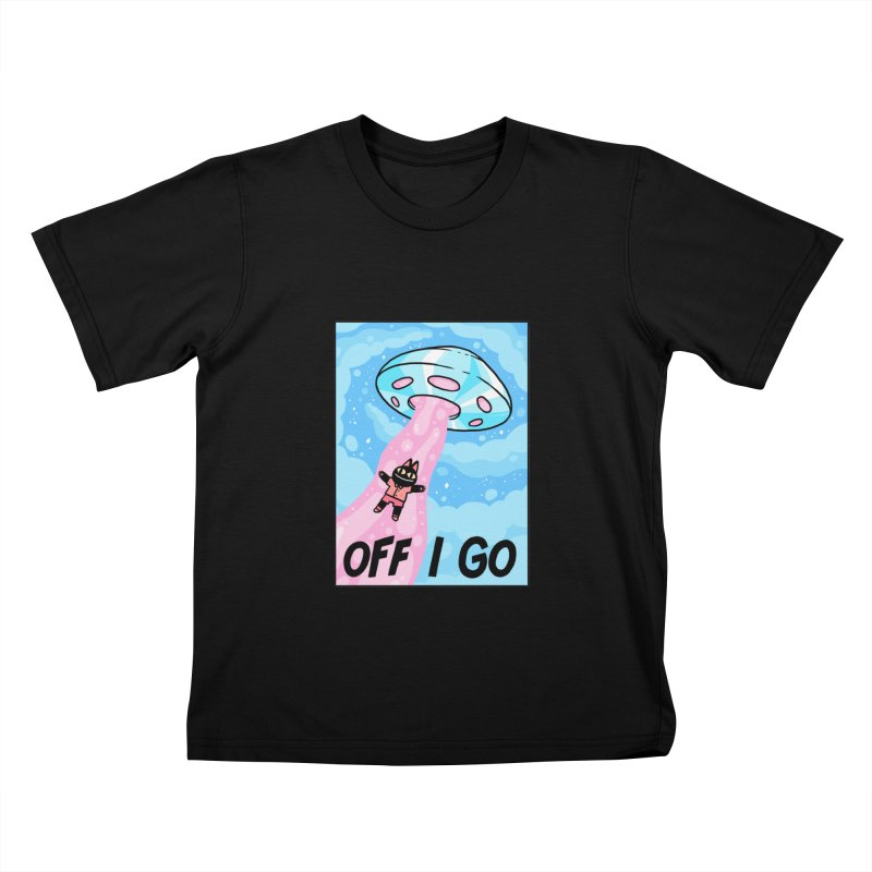 OFF I GO Kids T-Shirt by GOOD AND NICE SHIRTS