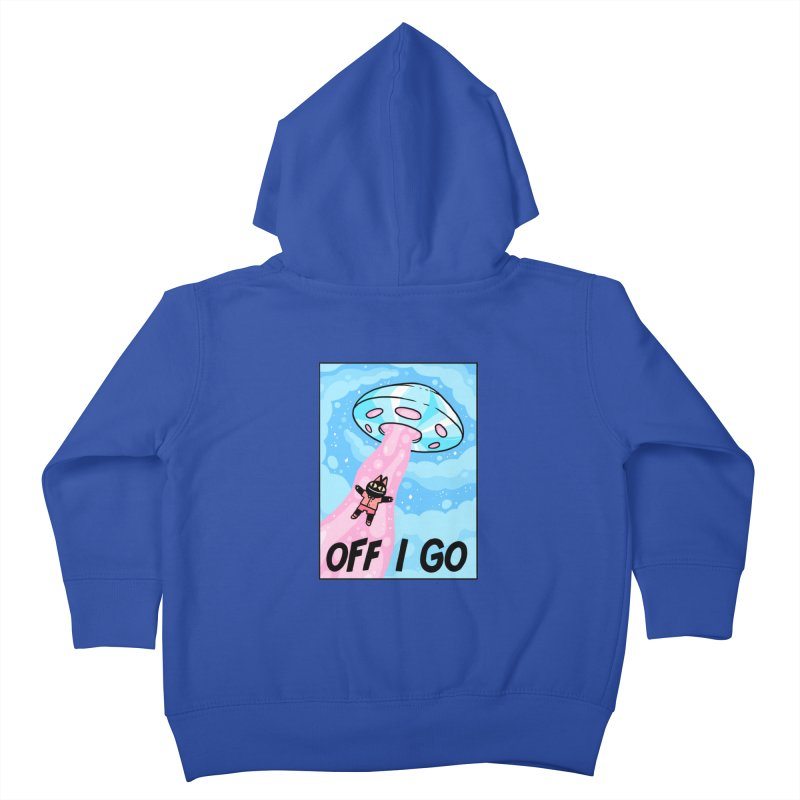 OFF I GO Kids Toddler Zip-Up Hoody by GOOD AND NICE SHIRTS