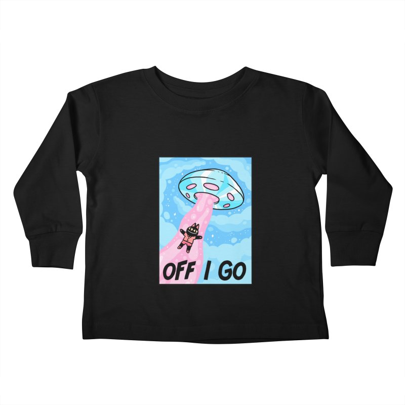OFF I GO Kids Toddler Longsleeve T-Shirt by GOOD AND NICE SHIRTS