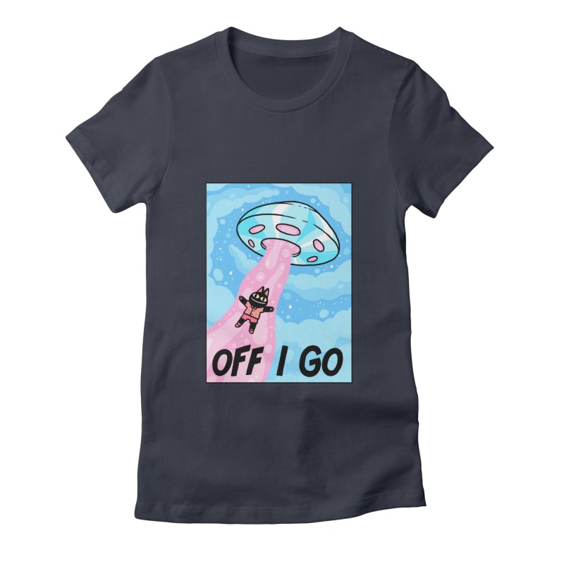OFF I GO Women's Fitted T-Shirt by GOOD AND NICE SHIRTS