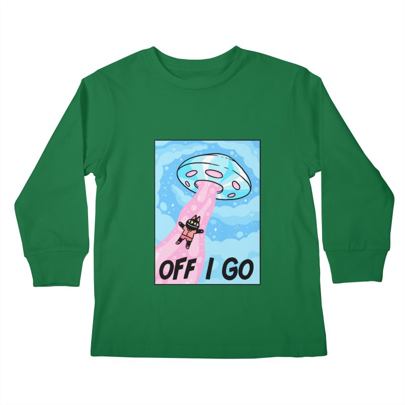 OFF I GO Kids Longsleeve T-Shirt by GOOD AND NICE SHIRTS