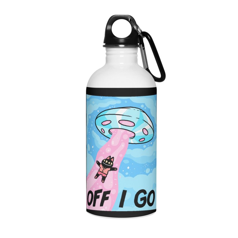 OFF I GO Accessories Water Bottle by GOOD AND NICE SHIRTS