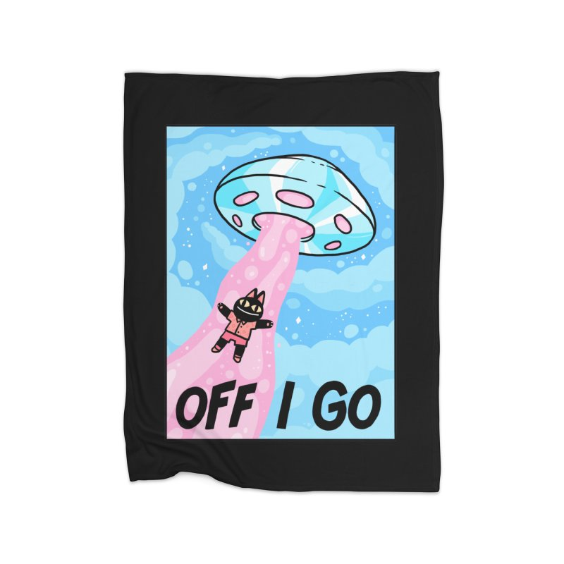 OFF I GO Home Blanket by GOOD AND NICE SHIRTS