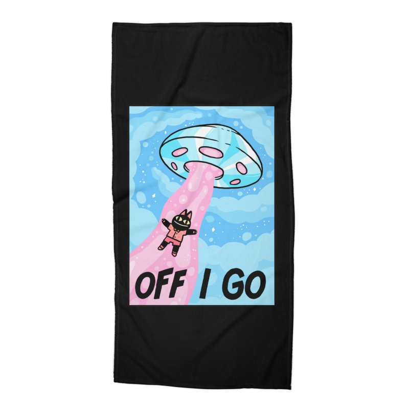 OFF I GO Accessories Beach Towel by GOOD AND NICE SHIRTS