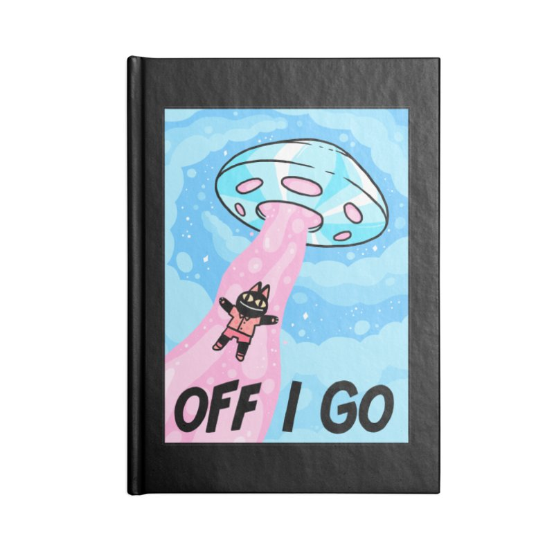 OFF I GO Accessories Lined Journal Notebook by GOOD AND NICE SHIRTS