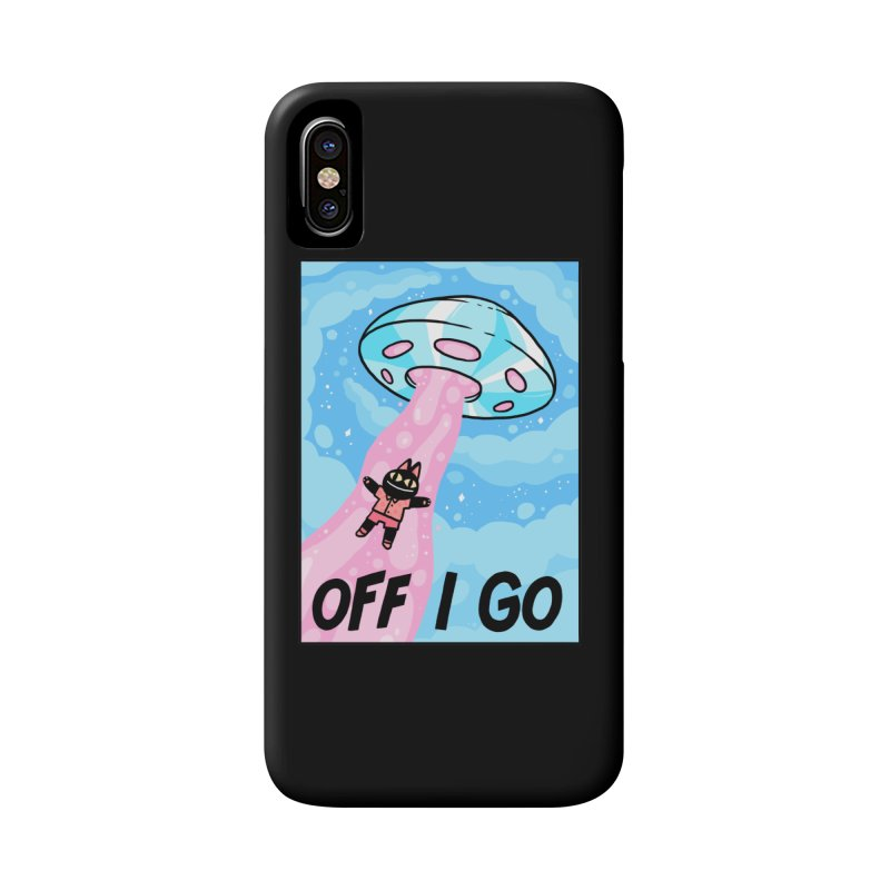 OFF I GO Accessories Phone Case by GOOD AND NICE SHIRTS