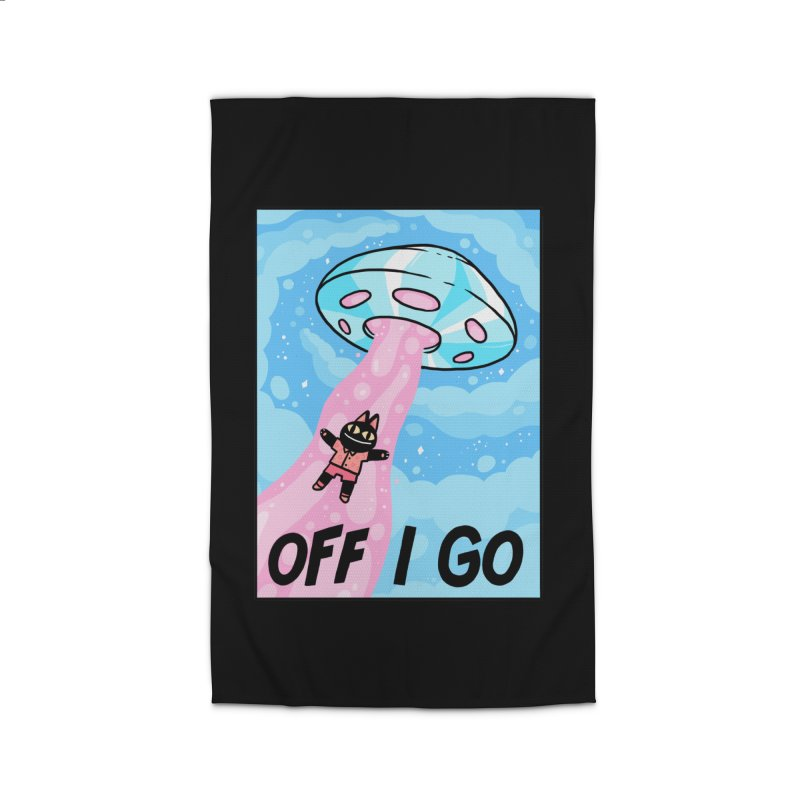 OFF I GO Home Rug by GOOD AND NICE SHIRTS