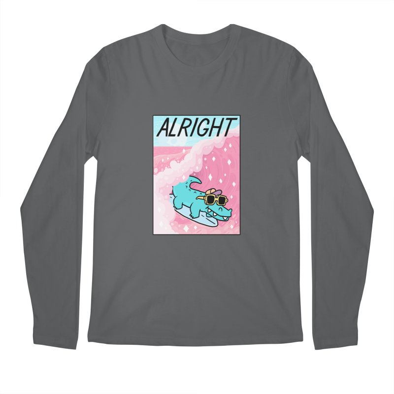 ALRIGHT Men's Longsleeve T-Shirt by GOOD AND NICE SHIRTS