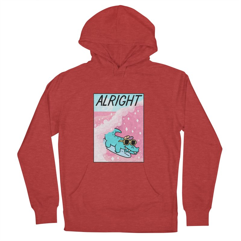 ALRIGHT Women's Pullover Hoody by GOOD AND NICE SHIRTS