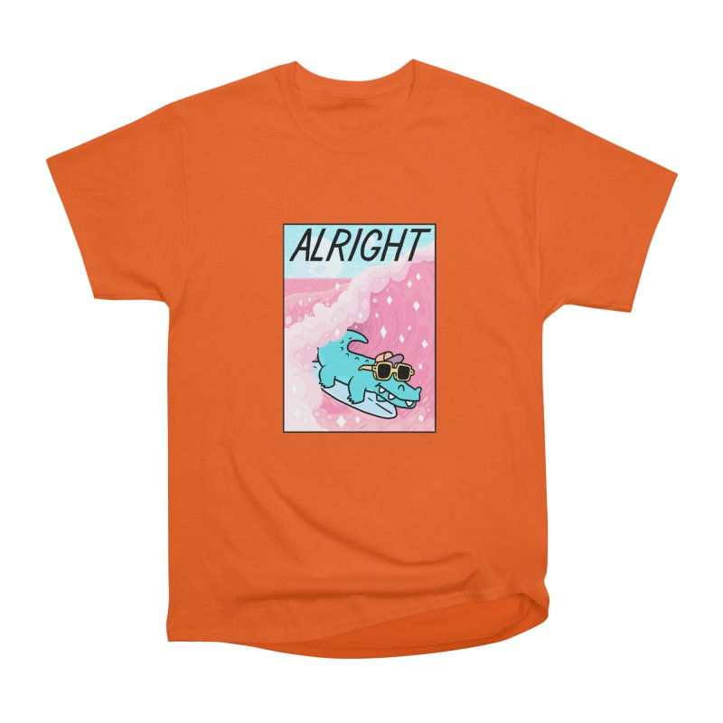 ALRIGHT Men's Heavyweight T-Shirt by GOOD AND NICE SHIRTS