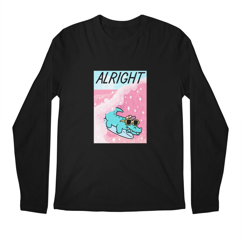 ALRIGHT Men's Regular Longsleeve T-Shirt by GOOD AND NICE SHIRTS