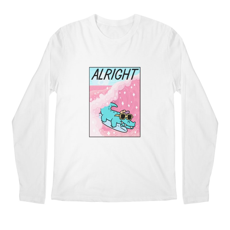 ALRIGHT Men's Regular Longsleeve T-Shirt by GOOD AND NICE SHIRTS