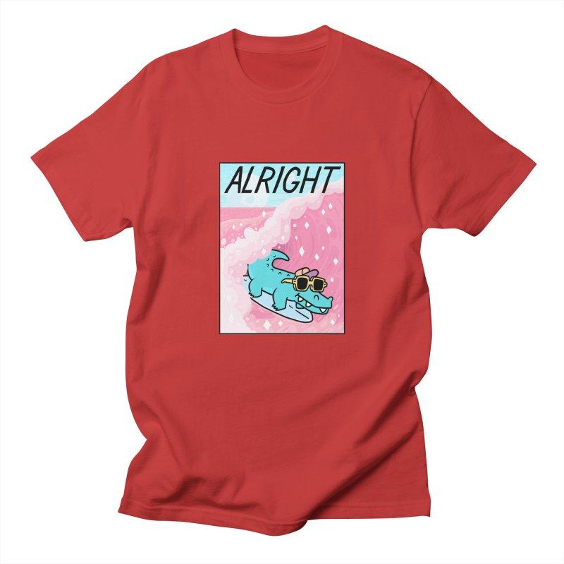 ALRIGHT Men's Regular T-Shirt by GOOD AND NICE SHIRTS