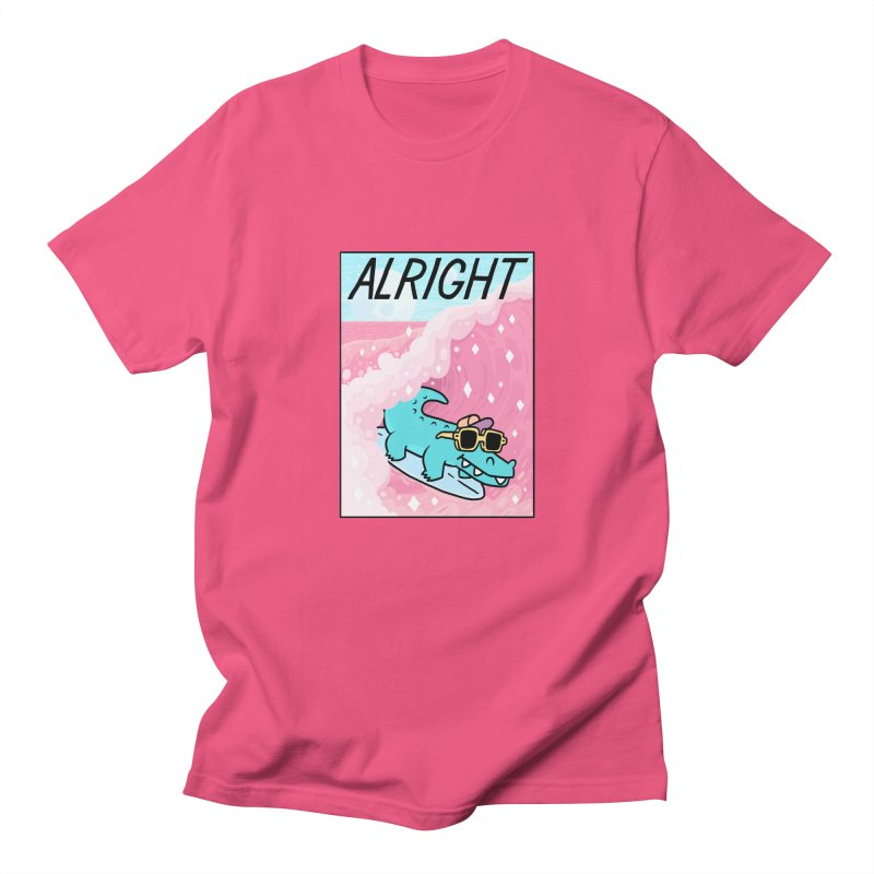 ALRIGHT Women's Regular Unisex T-Shirt by GOOD AND NICE SHIRTS