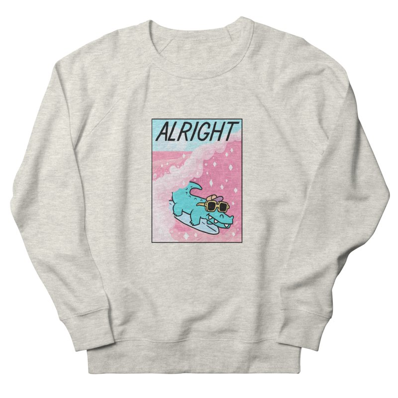 ALRIGHT Women's Sweatshirt by GOOD AND NICE SHIRTS