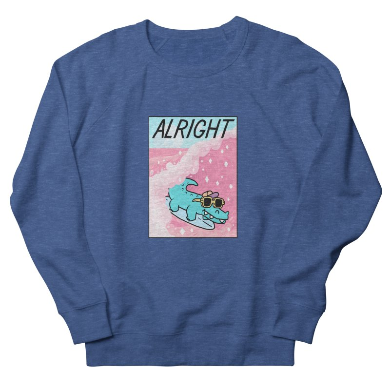 ALRIGHT Men's French Terry Sweatshirt by GOOD AND NICE SHIRTS