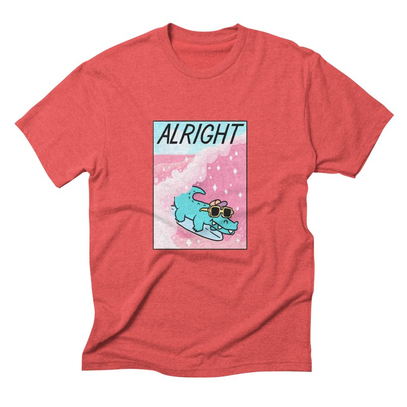 ALRIGHT Men's Triblend T-Shirt by GOOD AND NICE SHIRTS