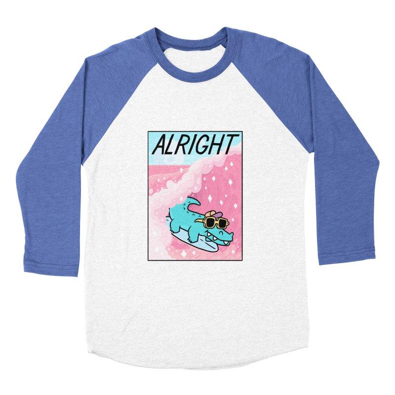 ALRIGHT Women's Baseball Triblend Longsleeve T-Shirt by GOOD AND NICE SHIRTS