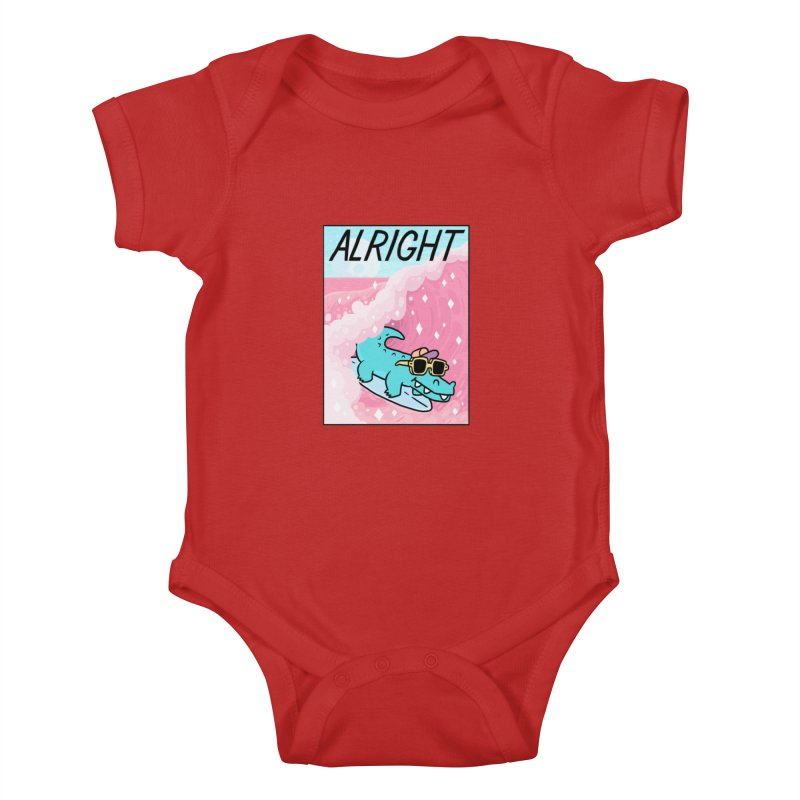 ALRIGHT Kids Baby Bodysuit by GOOD AND NICE SHIRTS