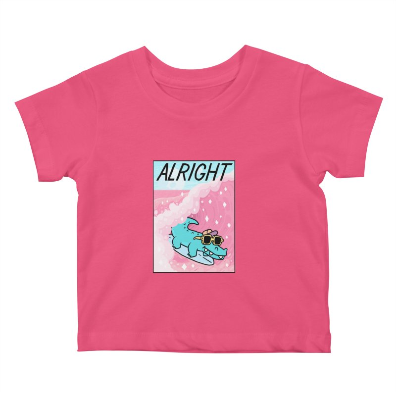ALRIGHT Kids Baby T-Shirt by GOOD AND NICE SHIRTS