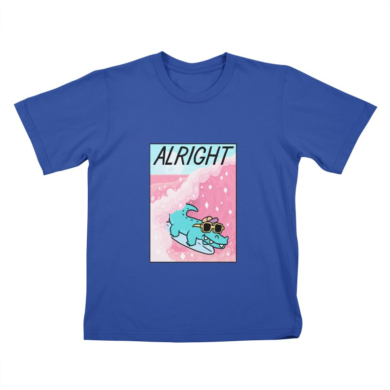 ALRIGHT Kids T-Shirt by GOOD AND NICE SHIRTS