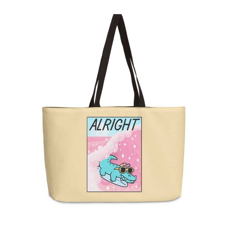 ALRIGHT Accessories Weekender Bag Bag by GOOD AND NICE SHIRTS