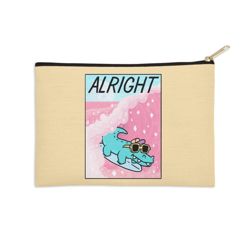 ALRIGHT Accessories Zip Pouch by GOOD AND NICE SHIRTS
