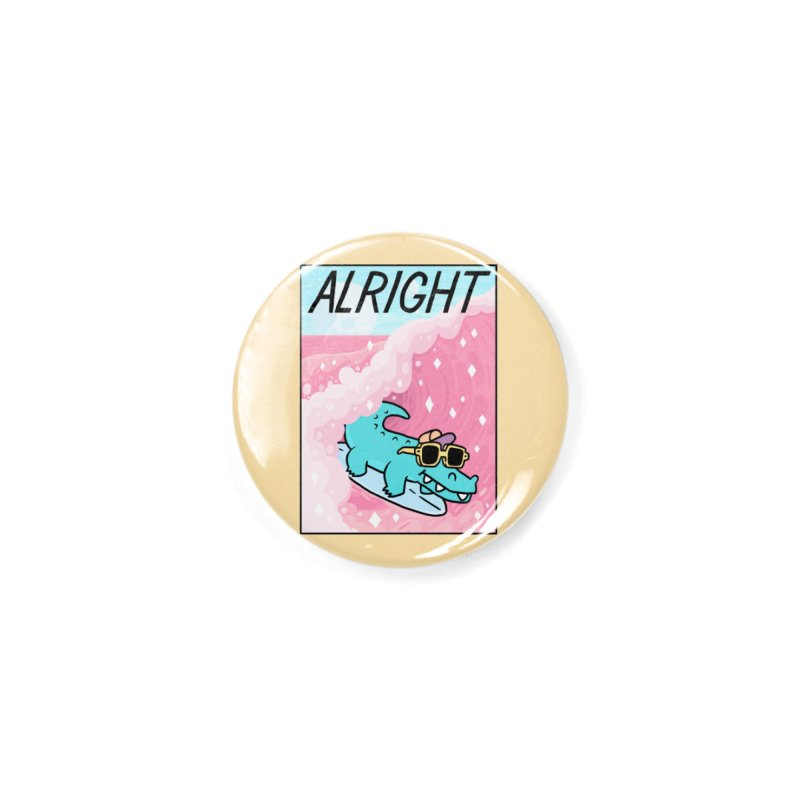 ALRIGHT Accessories Button by GOOD AND NICE SHIRTS