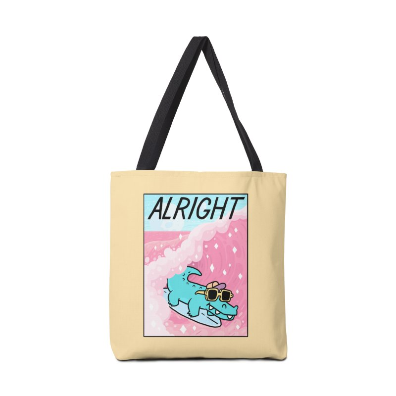 ALRIGHT Accessories Tote Bag Bag by GOOD AND NICE SHIRTS