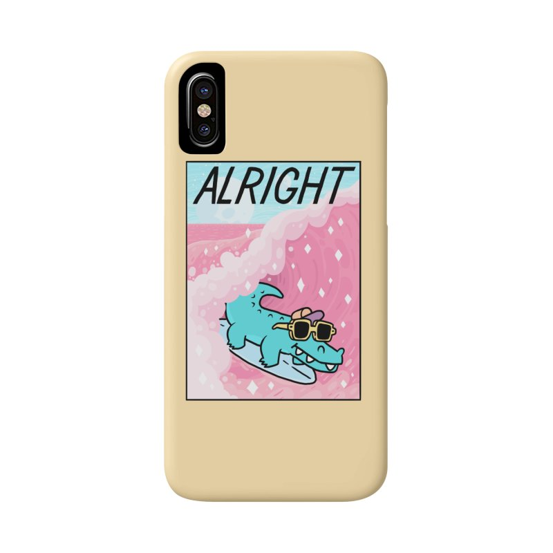 ALRIGHT Accessories Phone Case by GOOD AND NICE SHIRTS