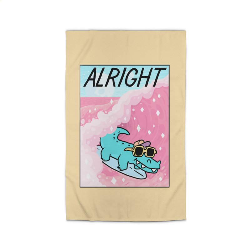 ALRIGHT Home Rug by GOOD AND NICE SHIRTS