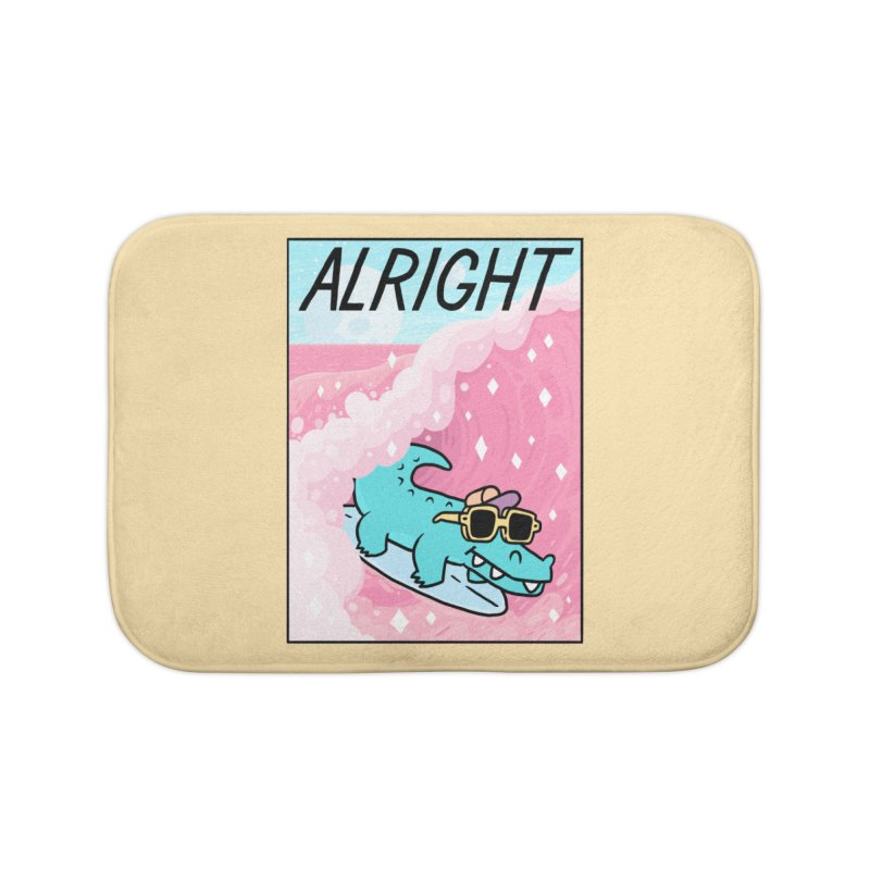 ALRIGHT Home Bath Mat by GOOD AND NICE SHIRTS