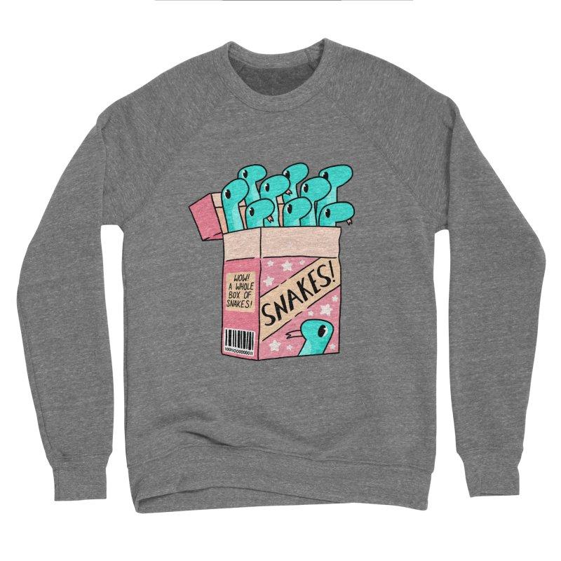 SNAKES! Women's Sponge Fleece Sweatshirt by GOOD AND NICE SHIRTS