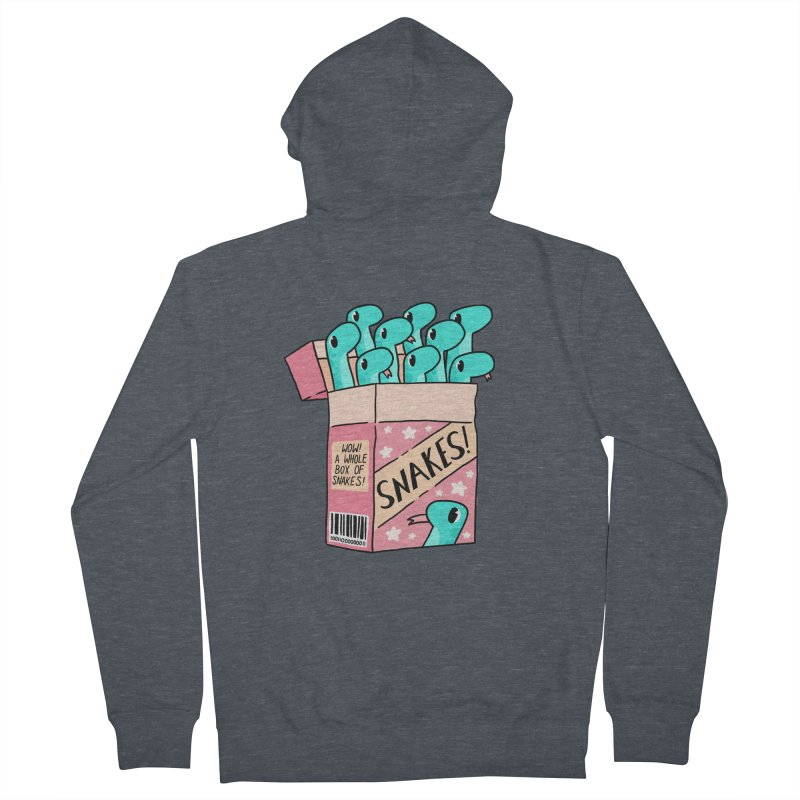 SNAKES! Women's French Terry Zip-Up Hoody by GOOD AND NICE SHIRTS