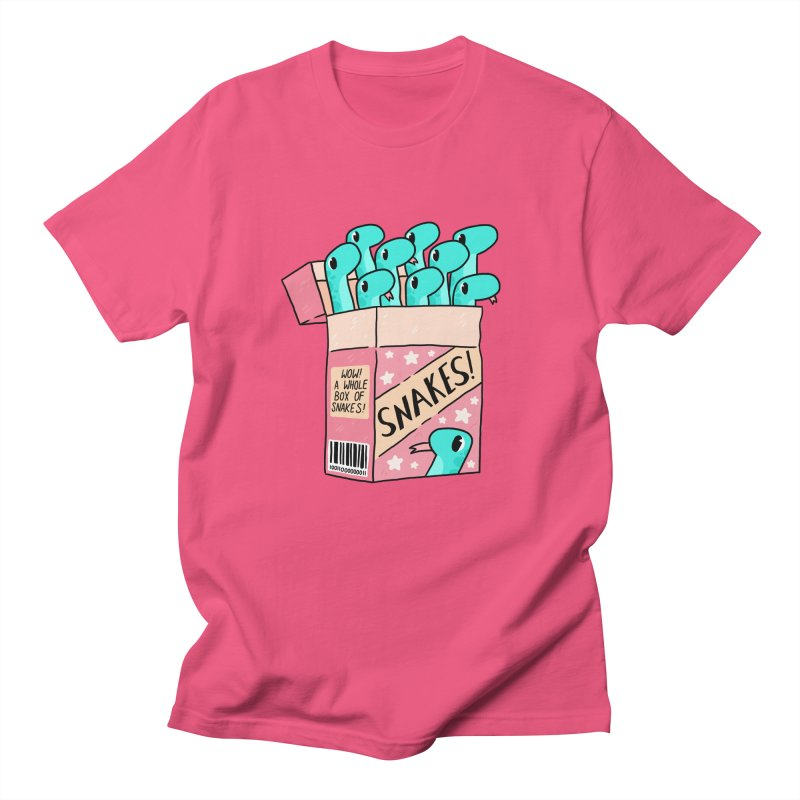 SNAKES! Men's Regular T-Shirt by GOOD AND NICE SHIRTS