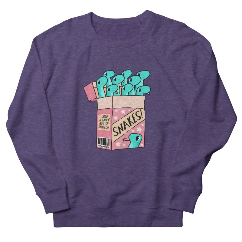 SNAKES! Men's French Terry Sweatshirt by GOOD AND NICE SHIRTS