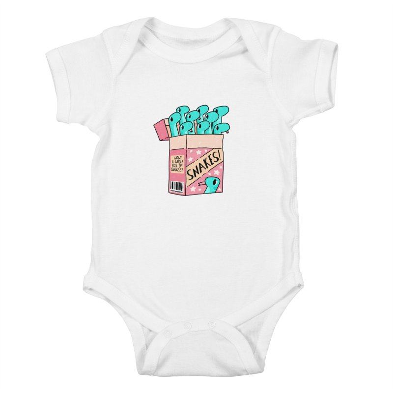 SNAKES! Kids Baby Bodysuit by GOOD AND NICE SHIRTS
