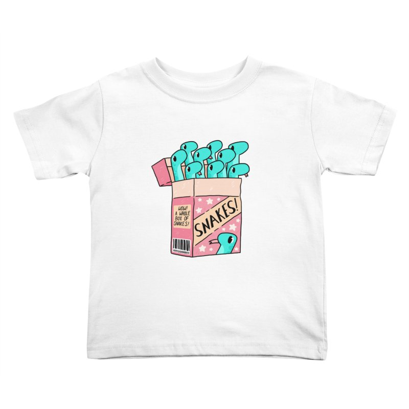 SNAKES! Kids Toddler T-Shirt by GOOD AND NICE SHIRTS